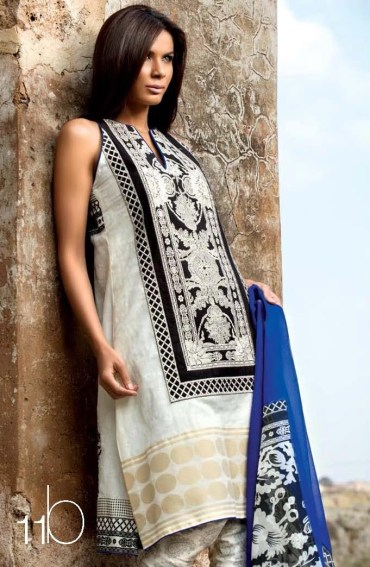 Sana Safinaz lawn copy of Zara 2013