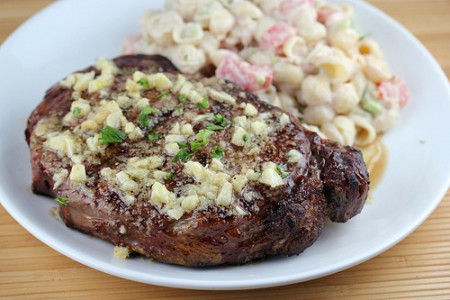 Garlic Grilled Steaks