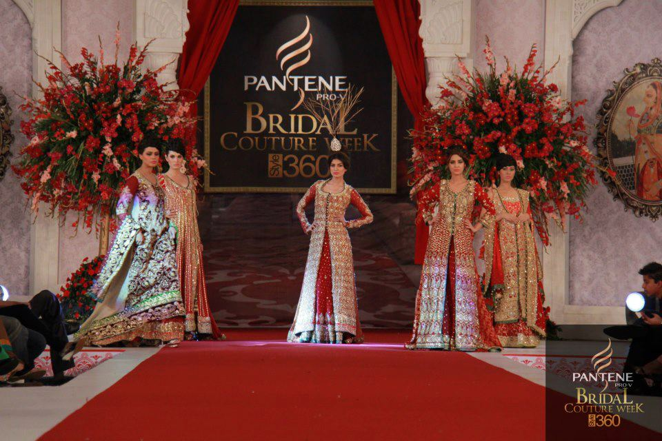 Pantene Bridal Couture week 2013 PBCW