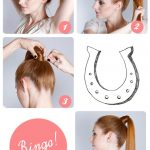 Step by step guide to do sleek ponytail
