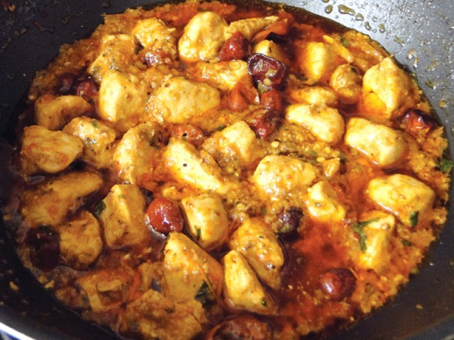 Boneless Chicken Masala recipe