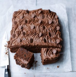 Quick double sheet chocolcate cake