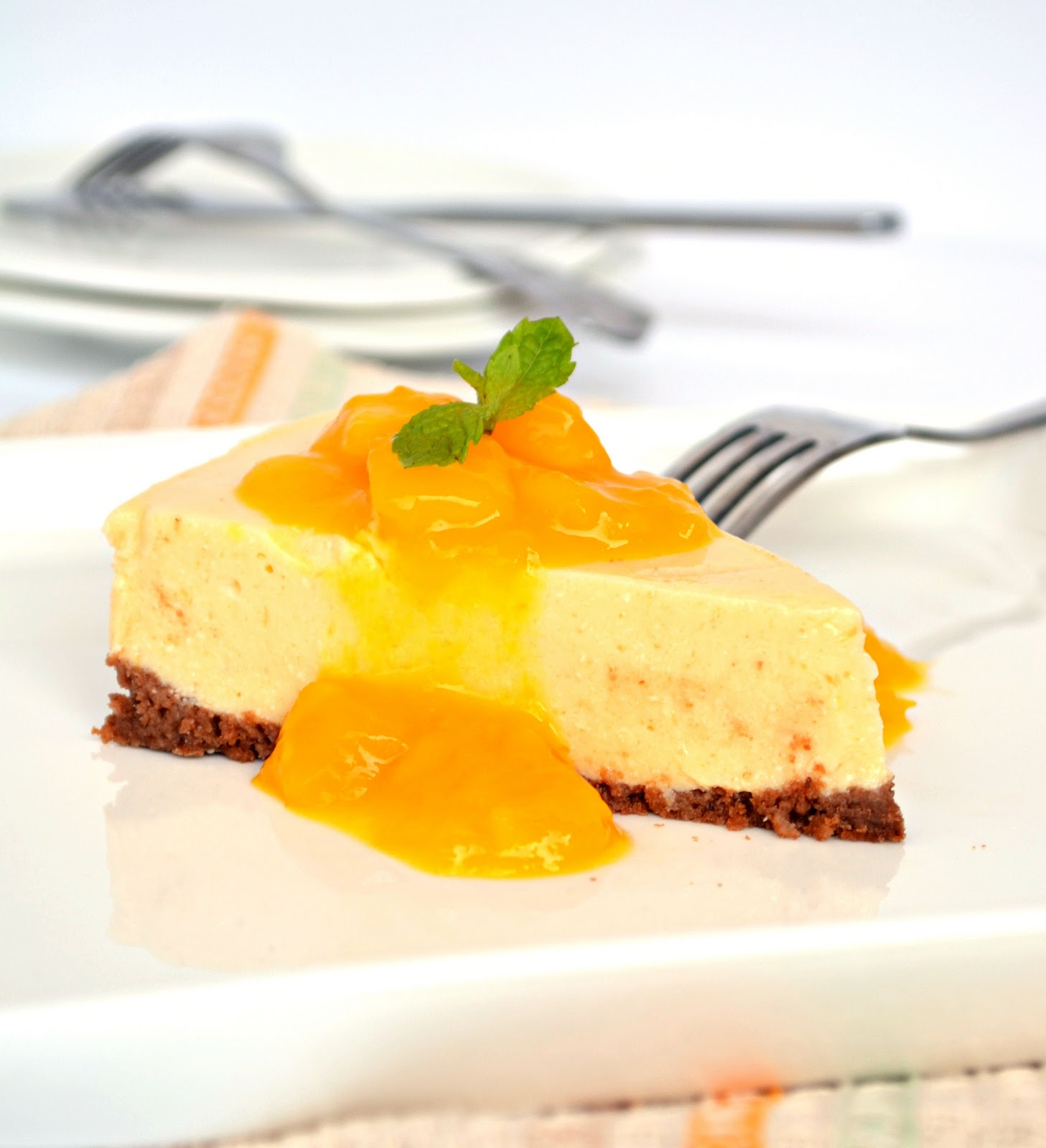 Mango Cheesecake- Perfect Summer Dessert