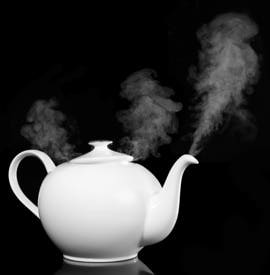 Teapot Face Steam