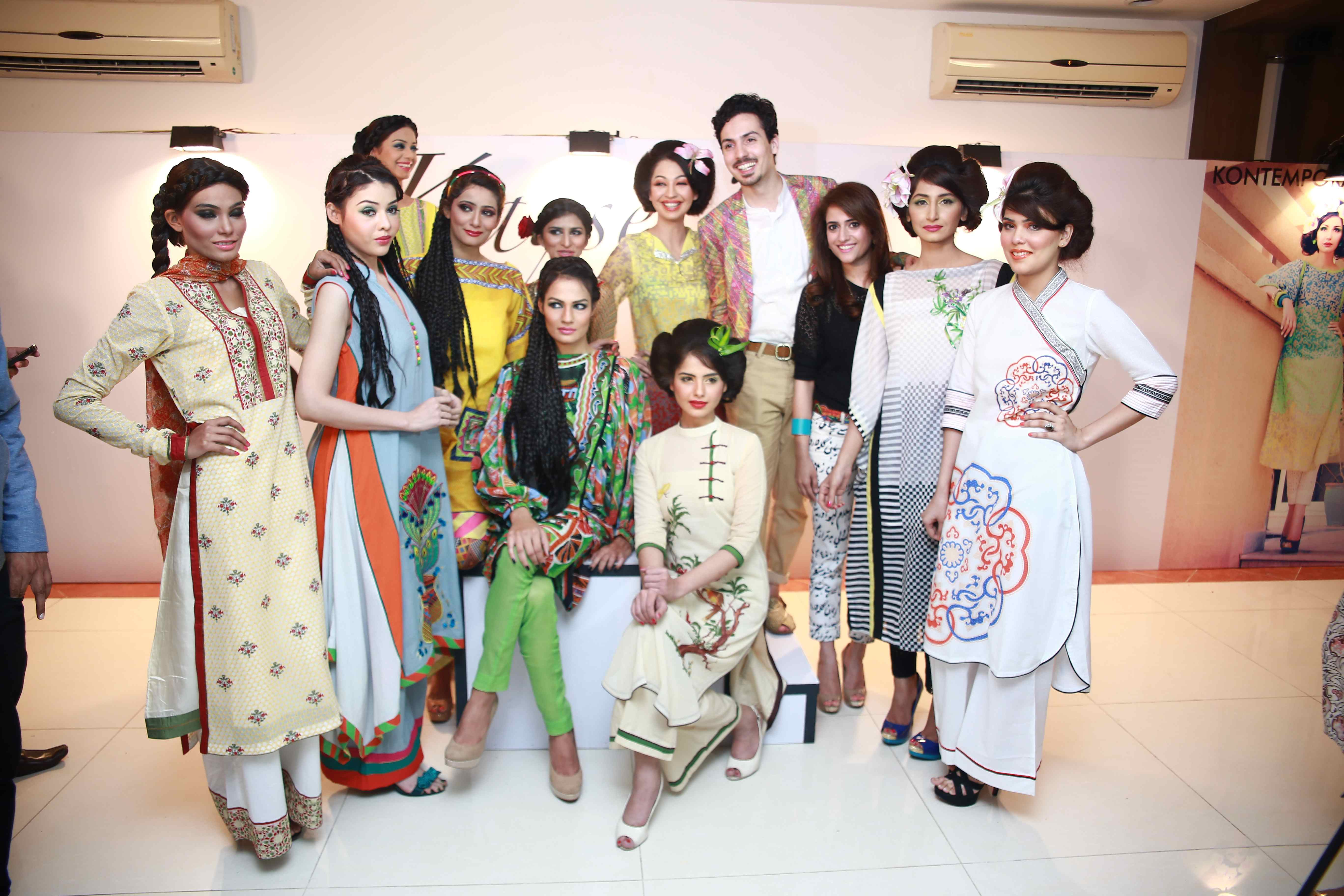 Kayseria Pret collection launch in Karachi