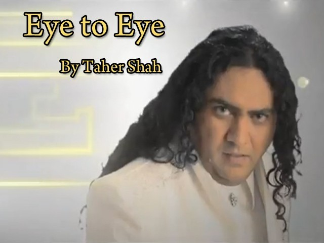 Tahir Shah Eye to Eye