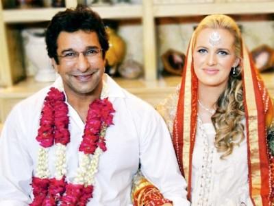 Wedding Bells for Wasim Akram