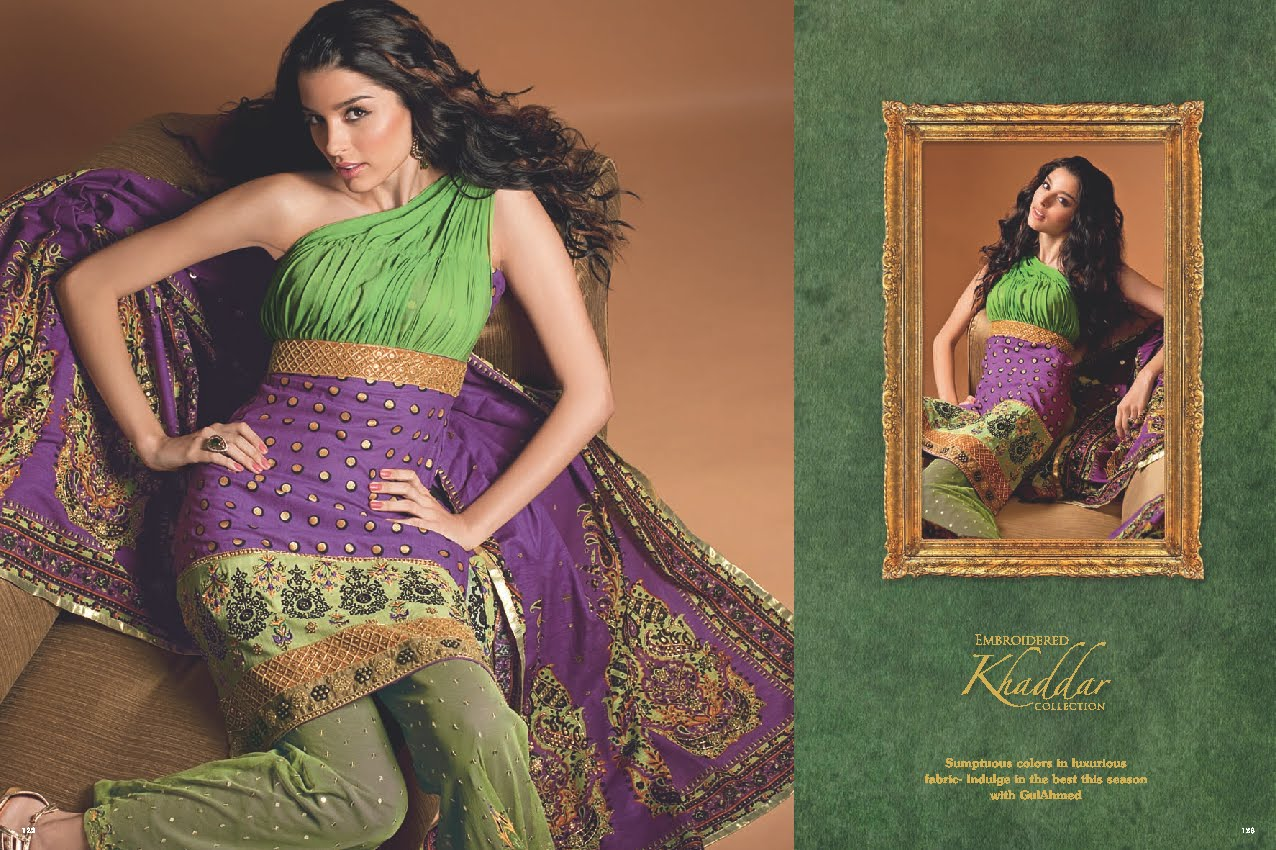Gul Ahmed Khaddar Collection 2010