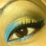 Shimmer Eye Make Up
