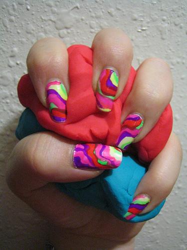 Spring Summer 2010 nail fashion