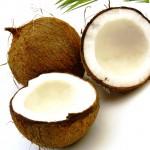 Homemade coconut lotion