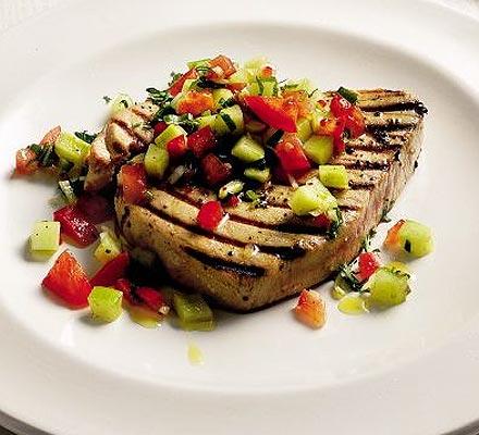 Indian Tuna Steak recipe