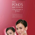 Never Turn 30 with Ponds Age Miracle