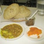 Halwa pori- The traditional Sunday breakfast