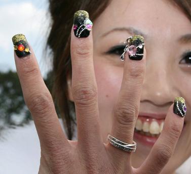 wacky nail Art