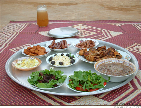 Eating Healthy in Ramadan