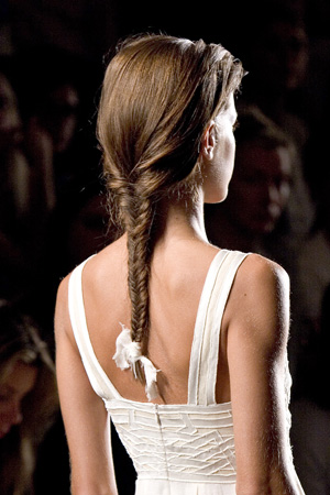 The Sleek Braid Hairstyle