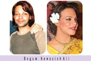 Ali Saleem aka Begum Nawazish Ali in Big Boss 4