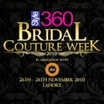Style 360 Bridal Couture Week Lahore 2010