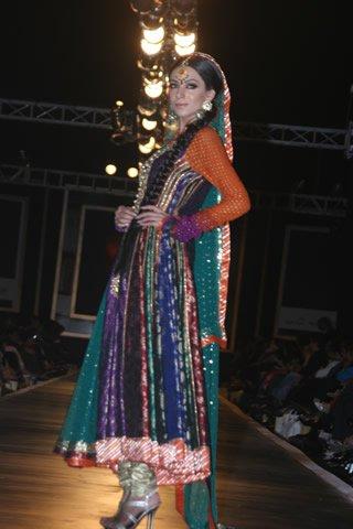 Nomi Ansari Collection at Bridal Couture Week Lahore 2010