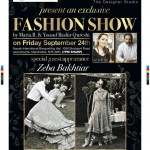 Fashion Show and Exhibition in Manchester and London for Pakistan Flood Victims