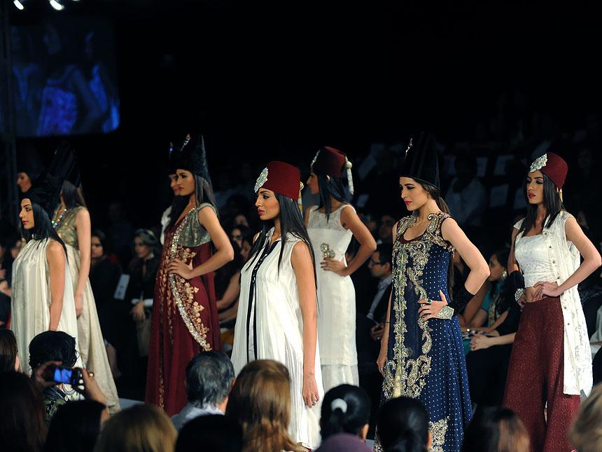 Second PFDC Sunsilk Fashion Week in Karachi