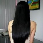 Take care of hair after hair rebonding