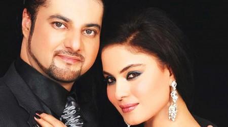 veena malik engagement faisal akbar khan bigg boss 4