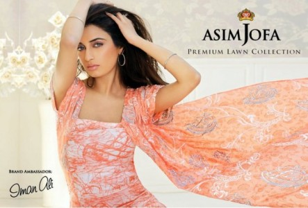 Asim Jofa's Premium Lawn Collection 2011 - Islamabad