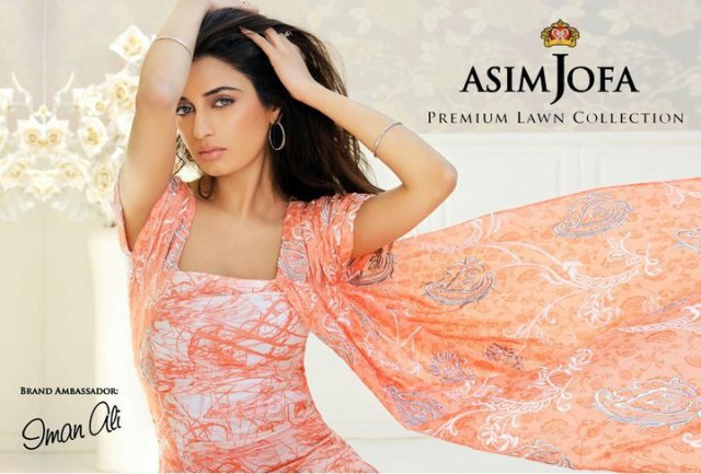 Asim Jofa's Premium Lawn Collection 2011 - Islamabad