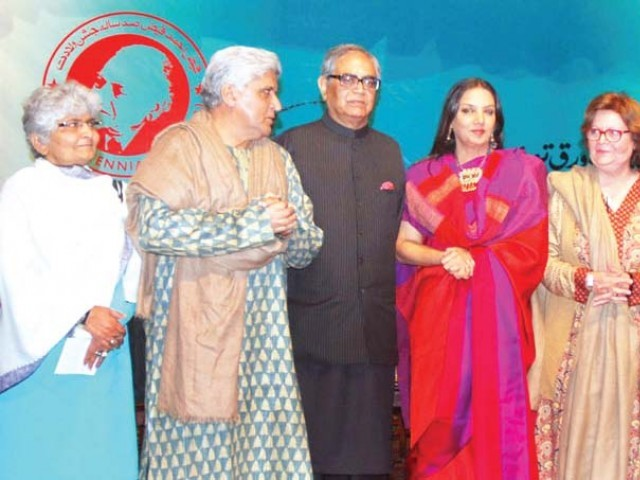 Faiz's 100th birth anniversary Bollywood celebrities walk their way to Pakistan