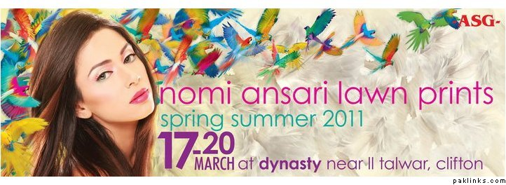 Nomi Ansari Lawn Exhibition 2011