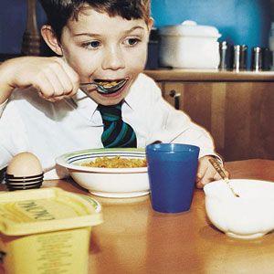 Good Nutrition in Children Begins with a Good Breakfast