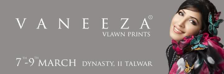 Vaneeza V Lawn 2011 Summer Collection 2011