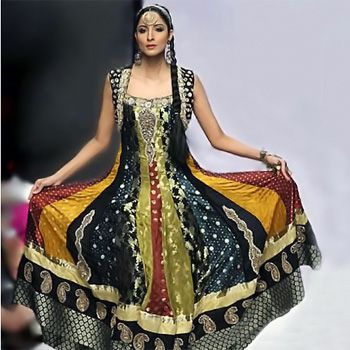 Anarkali Pishwas Frocks in Vogue