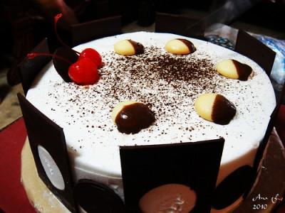 Black Forest Ice-Cream Cake