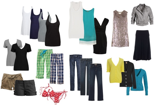 summer traveling clothes