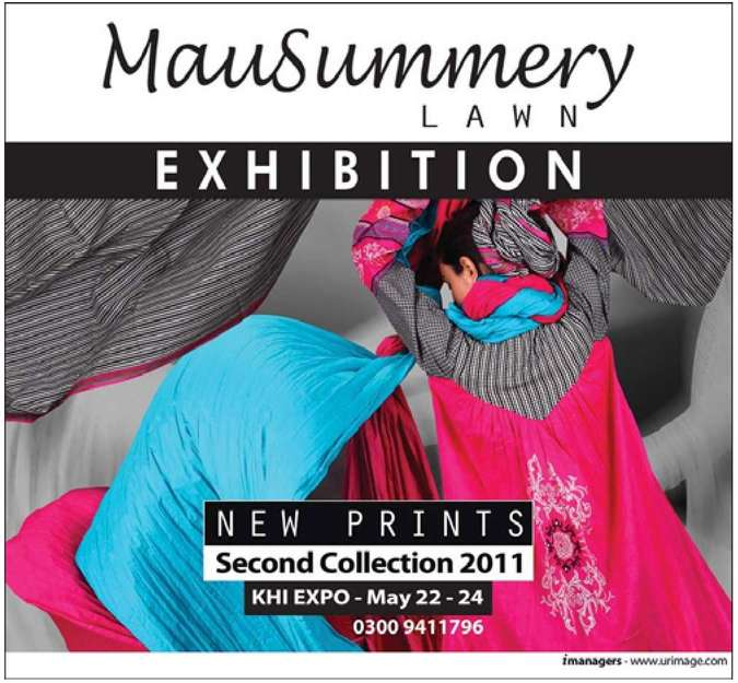 Mausummery lawn exhibition