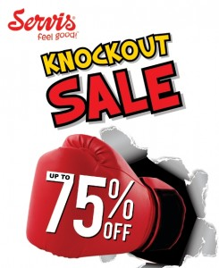 Service Knock out Sale