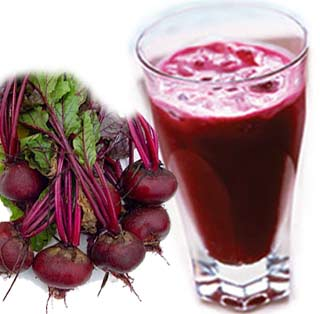 Beetroot juice helps boosting stamina