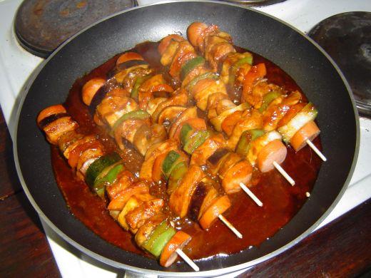Chicken Shish Kabab Recipe