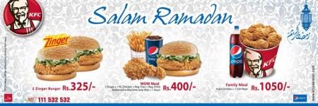 KFC Ramadan Deal 2011