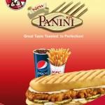 New Chicken Panini sandwich from KFC