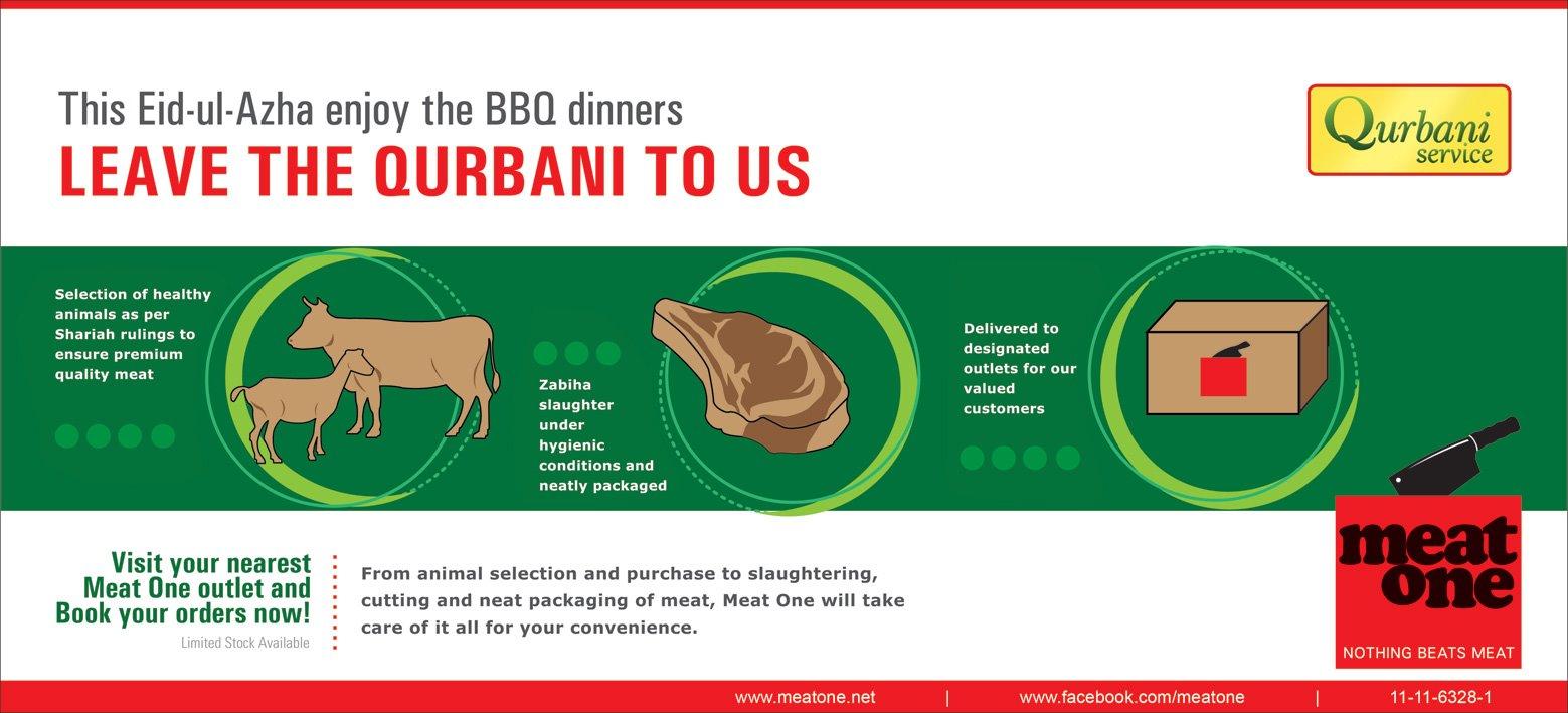 Meat One Qurbani Services Eid ul Adha 2011