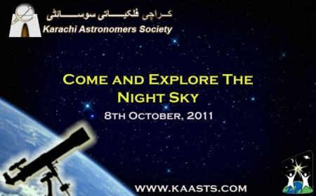 World Space Week Family Fair 2011 Karachi