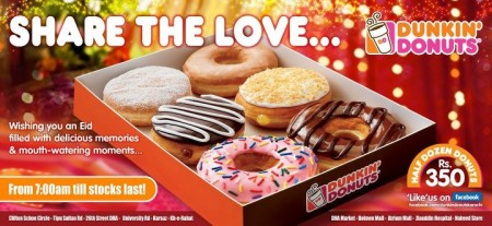 Dunkin Donuts Eid offer