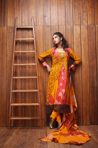 Firdous Linen Winter Collection 2011-2012
