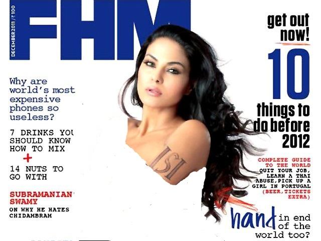 Veena Malik FHM Photo shoot Controversy