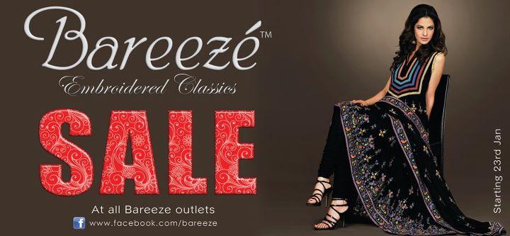 Bareeze Winter Sale 2012