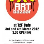 Art bazaar at T2F